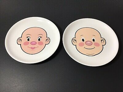Children's Face Plates Fred Plays With His Food • 8.04£