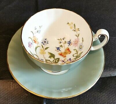 Aynsley Cup And Saucer • 25£