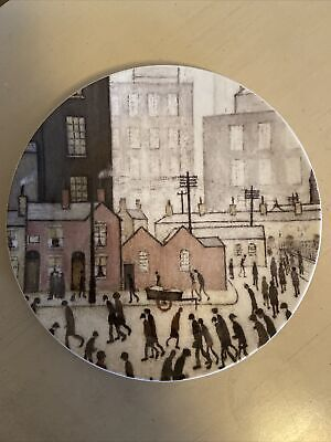 Salford Art Gallery Plate By Lowry Queens Fine Bone China • 3.33£
