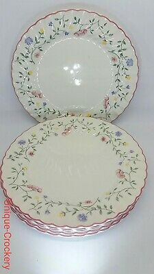 6 X Johnson Brothers Summerchintz Dinner  Plates  Smal Chip At The Back. • 15£