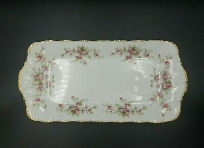 Vintage Paragon China Victoriana Rose Sandwich Tray- Excellent Condition • 32.90£