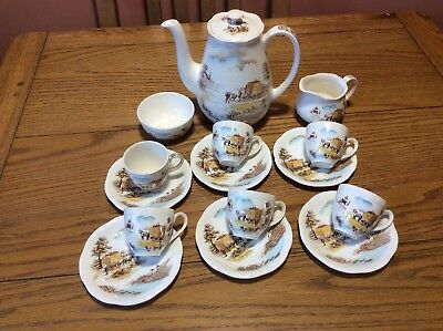 Alfred Meakin Complete Coffee Set • 40£