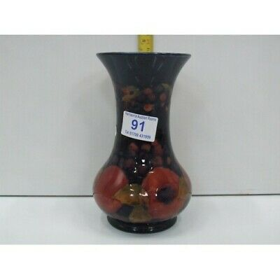 William Moorcroft Pomegranate Pattern Vase With Berries And Leaves • 825£