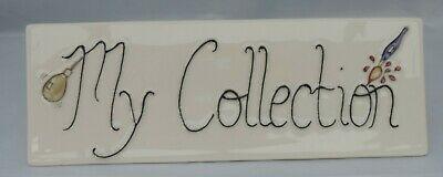 Moorcroft  My Collection  Counter Sign • 150£