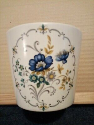 Purbeck Poole Pottery Small Vase Or Pot With Flower Design  • 3£