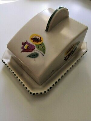 Poole Pottery Butter Dish • 15£