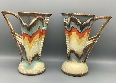 Pair Of Mid Century Ditmar Urbach Jugs Made In Czechoslovakia  • 50£