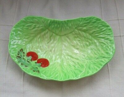 Vintage Beswick Ware Cabbage/Lettuce Leaf With Tomatoes • 15.80£