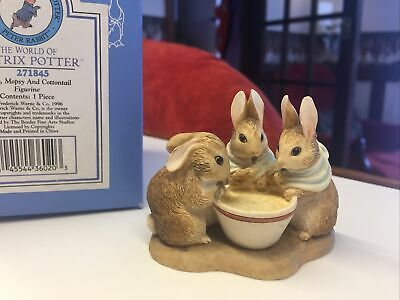 The World Of Beatrix Potter 'flopsy, Mopsy And Cottontail' Original Box • 10£