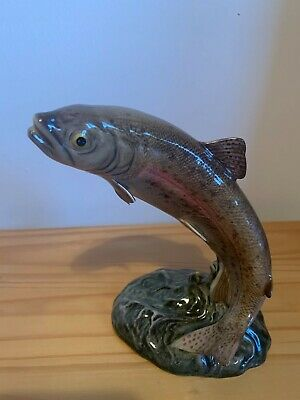 BESWICK TROUT FIGURINE ENGLAND Model 1032 • 5£