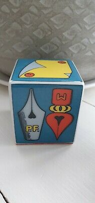FORNASETTI/ Rosenthal Rare Cube Paperweight With Box • 77£
