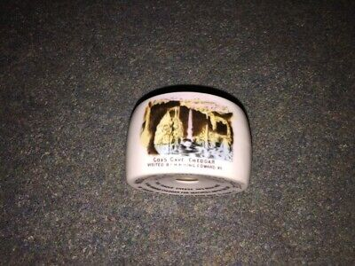 Cox's Cave Cheddar  Visited By H.M. King Edward VII China Cheese Model. • 28£