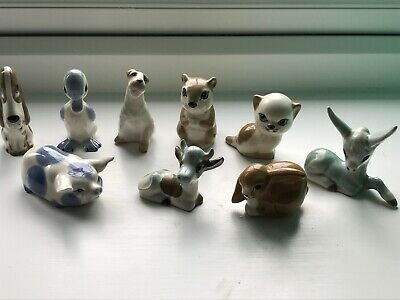 9  Szeiler Animal Figures , Wonderful Collection Cute Faces • 15£