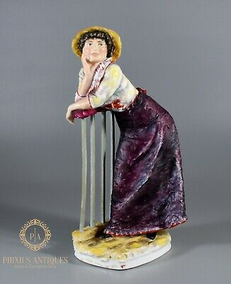 Rare Royal Worcester Sample Figure Of Alphonsine From The Impressionists Series  • 19.99£