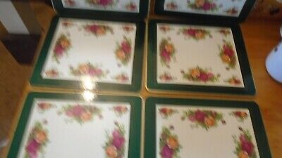 Royal Albert Old Country Roses BOXED SET OF 6 TABLEMATS  • 9.99£