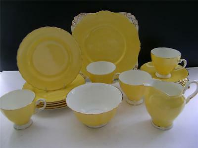 Stunning 18 Piece Vintage Part Tea Set By Tuscan. • 49£