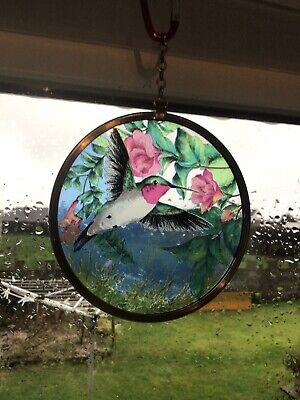 Stained Glass Hummingbird • 7.50£
