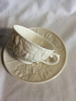 Belleek Cup And Saucer • 5.30£