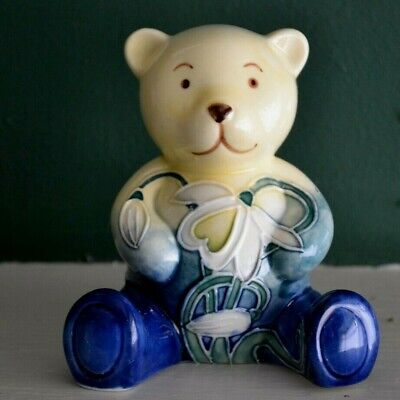 Old Tupton Ware Snowdrop Teddy Bear Porcelain Jeanne Mcdougall • 16.75£