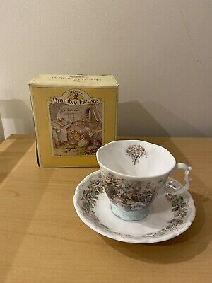 Royal Doulton Brambly Hedge Summer Cup & Saucer Set • 40£