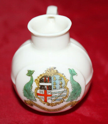 Gemma Crested China - Miniature Jug - Ilfracombe - Vgc • 7.99£
