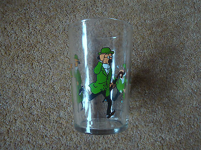 Lovely Tintin Glass - Professor Calculus 1974 Lombard - Very Rare. • 19.90£
