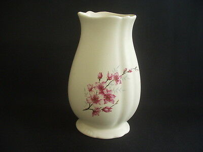 Vintage Axe Vale Pottery Vase ~floral Decoration ~7.25  In Height • 9.99£