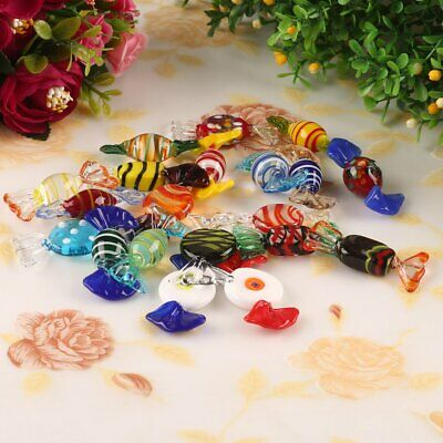20Pk Vintage Murano Glass Sweets Wedding Xmas Party Candy Decorations Gift • 11.09£