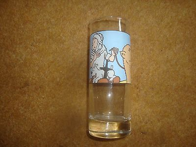 Tintin Glass - 1994 Axis - Crab With The Golden Claws  - Very Rare. • 24.90£