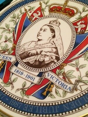 Queen Victoria Commemorative Plate Carverswall, Fine Bone China • 25£