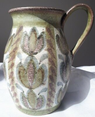 Vintage Pottery - Early Glyn Colledge Inscribed Vintage Denby Pitcher • 34.99£