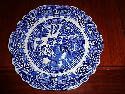 Swinnertons Staffordshire England OLD WILLOW Cake Or Bread And Butter Plate • 12.99£