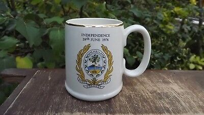 1976 Independence Of Seychelles Commemorative Pottery Mug  • 14.99£