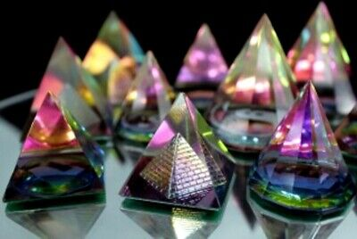 Mystic Esoteric Egyptian Crystal Pyramid Magical Mystical Ying Yang Egyptology • 6.99£