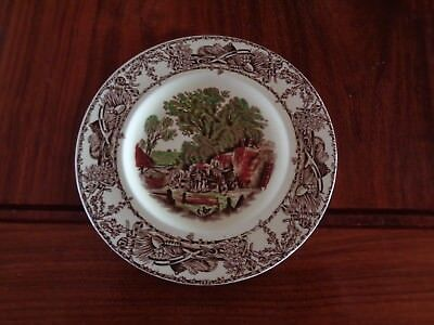 A J Wilkinson Ltd Royal Staffordshire Pottery RURAL SCENES Small Side Plate • 8.99£