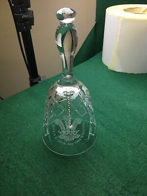 Stewart Crystal Commemorative Bell • 30£