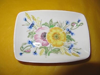 VINTAGE BRANKSOME MIRIAM YELLOW Oblong Small BOWL/DISH Long 4.5 ,  In VGC  • 7.50£