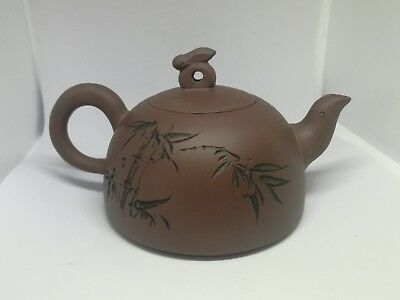 Vintage Chinese Clay Teapot  • 32£