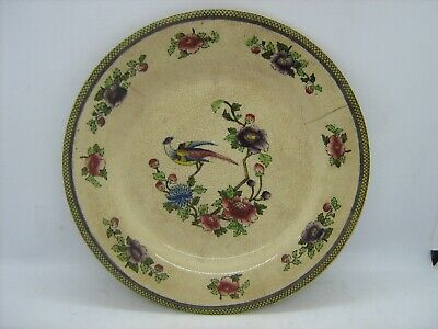 Antique Empire Ware Pottery Stoke On Trent Hand Painted Plate  • 7.99£