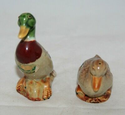 Vintage 1950's 'rosemeade' Mallard Ducks  Salt & Pepper Shakers • 19.99£