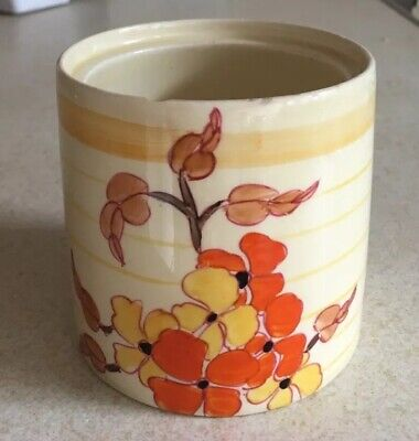 Clarice Cliff Preserve Pot Base • 65£