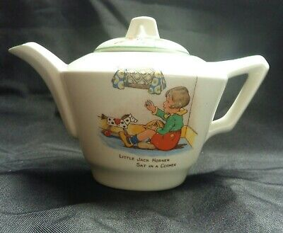Vintage Nursery Rhyme Small Children's Teapot  Made In England  • 18£