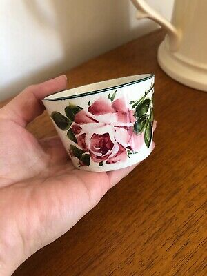Very Nice Original Cabbage Rose Wemyss Small Open Bowl T Goode Stamp • 44.99£
