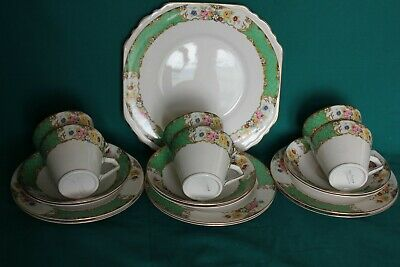 Stylish Vintage Nelson Ware Art Deco Part Tea Set Good Condition • 28£