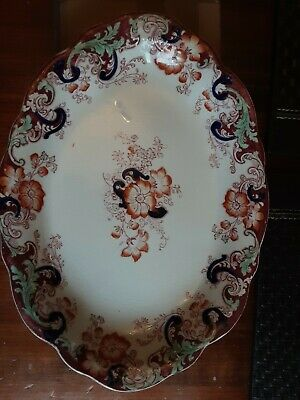 Vintage Ormonde Alfred Meakin England Royal Semi Porcelain Decorated Plate. • 4.99£