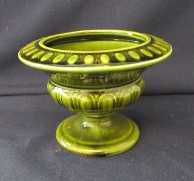 Green Urn, Vase, Holkham Pottery Studio, Decorative Ornament,, 10cm Tall • 20£