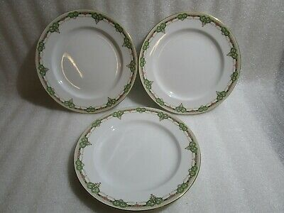 Losol Ware Keeling Co  , 3 X  Middle  Plates ,  24 Cm • 5.97£