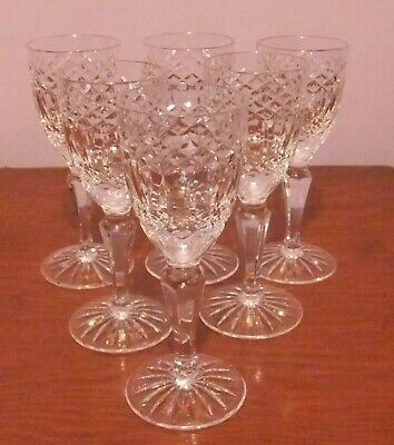6 X GALWAY 'Castlerosse' Small Wine/Sherry Glasses • 16£