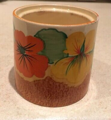 Clarice Cliff Nasturtium Preserve Pot Base • 75£