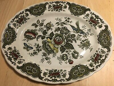 Ridgway Staffordshire Windsor Oval Serving Plate • 10£